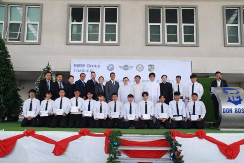 BMW Scholarship and Engine Donation Ceremony