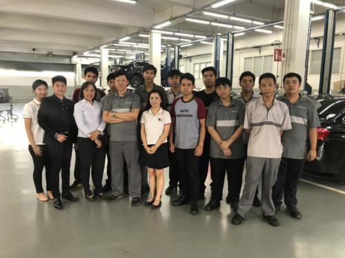 Visiting BMW apprentices (11,12,17,19 July 2019)