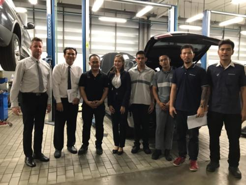 Visiting BMW apprentices @ German Auto Pattaya_5 June 2019