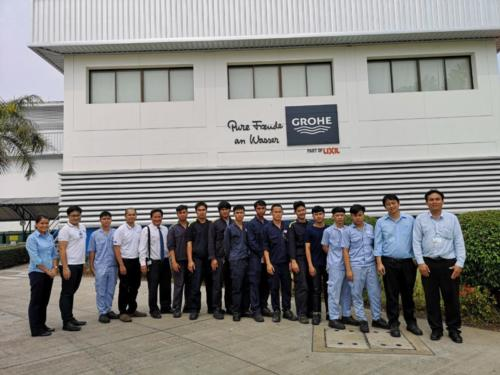 Meeting with Grohe on preparation of final exam (18 Mar 2019)